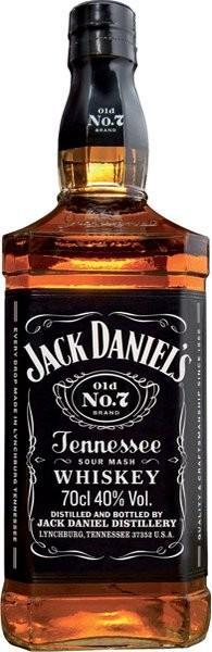 JACK DANIEL´S whiskey 40% 0,7l