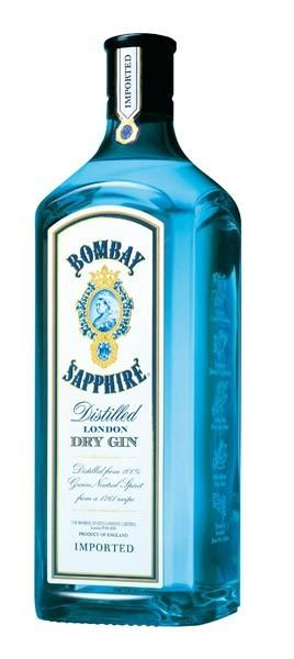 BOMBAY SAPPHIRE gin 40% 0,7l