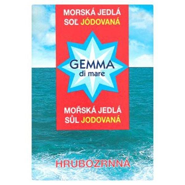 Morská soľ hrubozrnná 1kg Gemma di mare