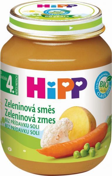 HIPP BIO Zeleninová zmes 125g
