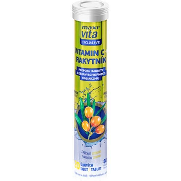 Vitamín C Rakytník, 20tab./bal