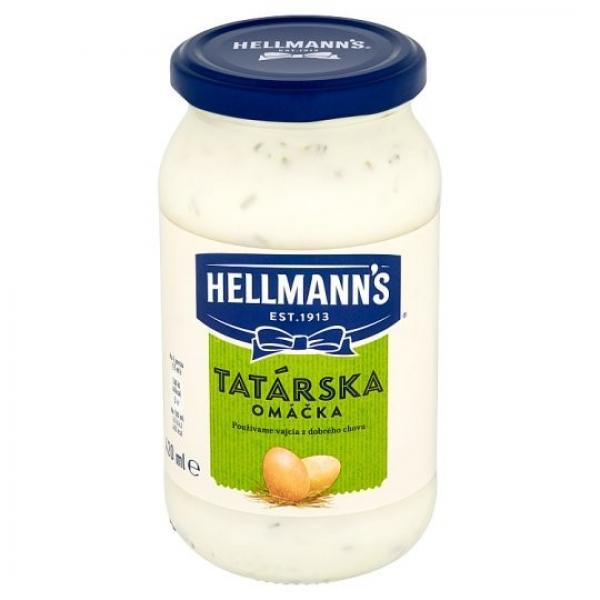 Tatárska omáčka 420ml Hellmann's