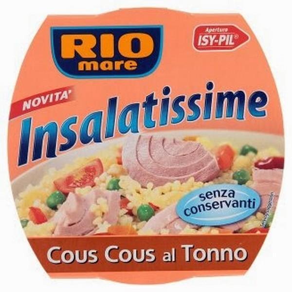 Tuniak šalát cous cous 160g Rio Mare