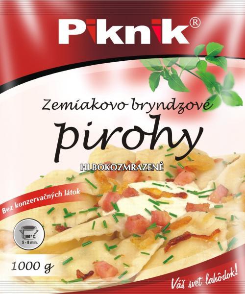 Pirohy zemiakovo-bryndzové 1kg Piknik