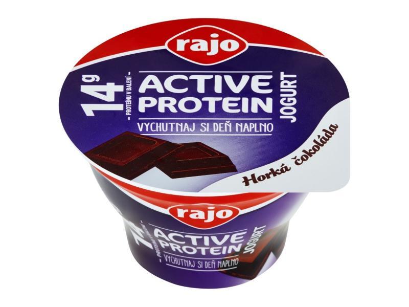 Active Protein Jogurt horká čokoláda 180g Rajo