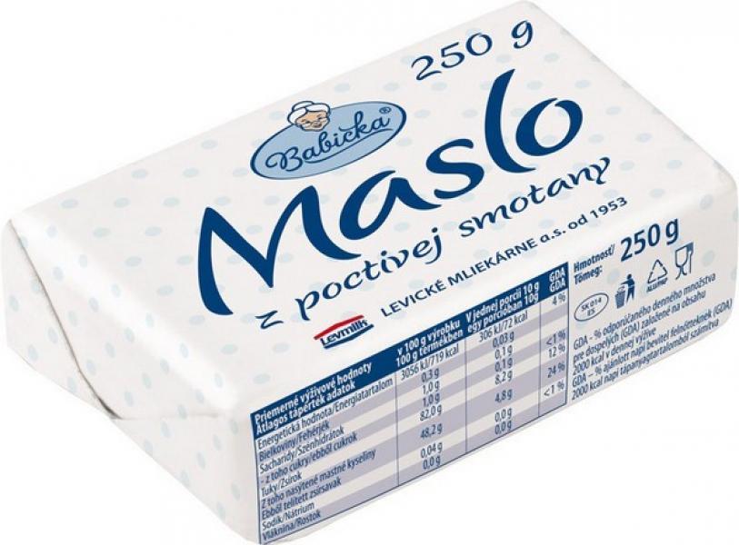 Maslo Tradičné Levice  250g