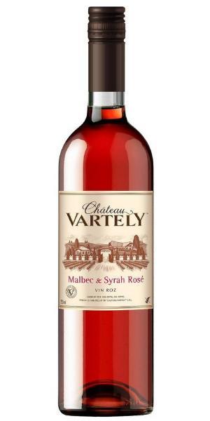 Malbec & Syrah Rosé rúžové víno polosladké 0,75l CHÂTEAU VARTELY