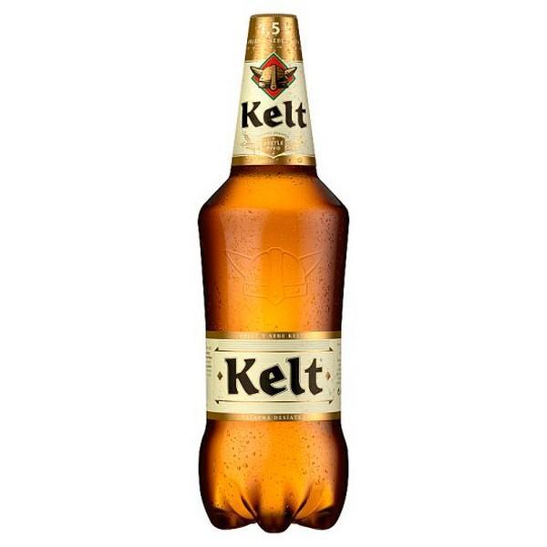 Kelt svetlé výčapné pivo 1,5l 10%