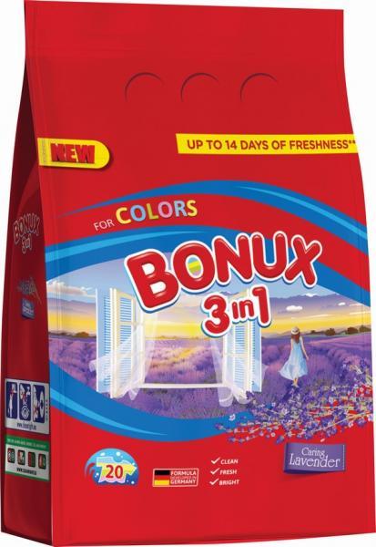 Prací prášok Bonux Color 1500g/20PD 3v1