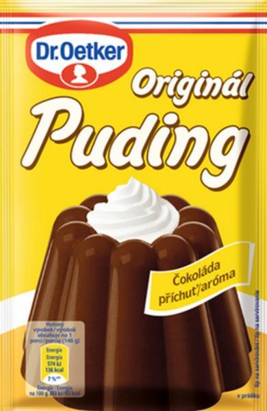 Puding čokoláda 45g Dr.Oetker